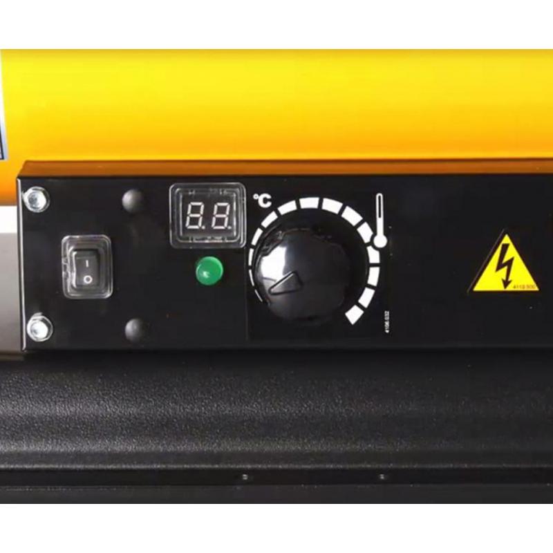Incalzitor cu motorina cu ardere directa tip B 35 CED