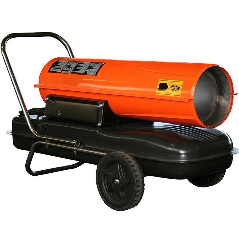 Incalzitor cu motorina cu ardere directa tip REM34CEL