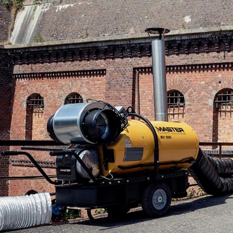 Incalzitor cu motorina cu ardere indirecta tip BV 500-13 CR