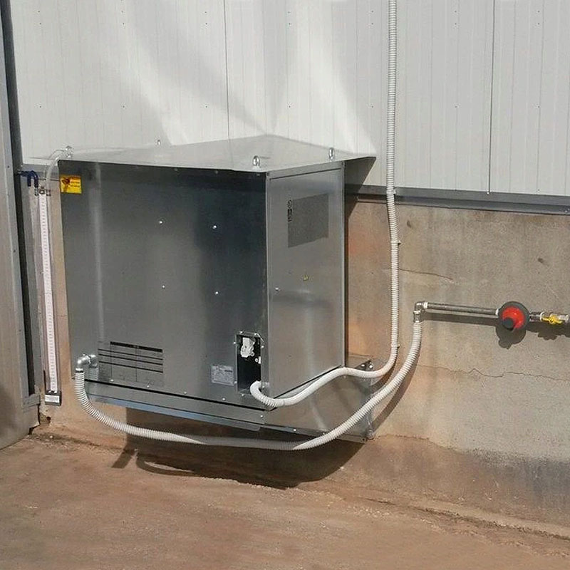 Incalzitor cu gaz sau GPL tip CF 75 SPARK