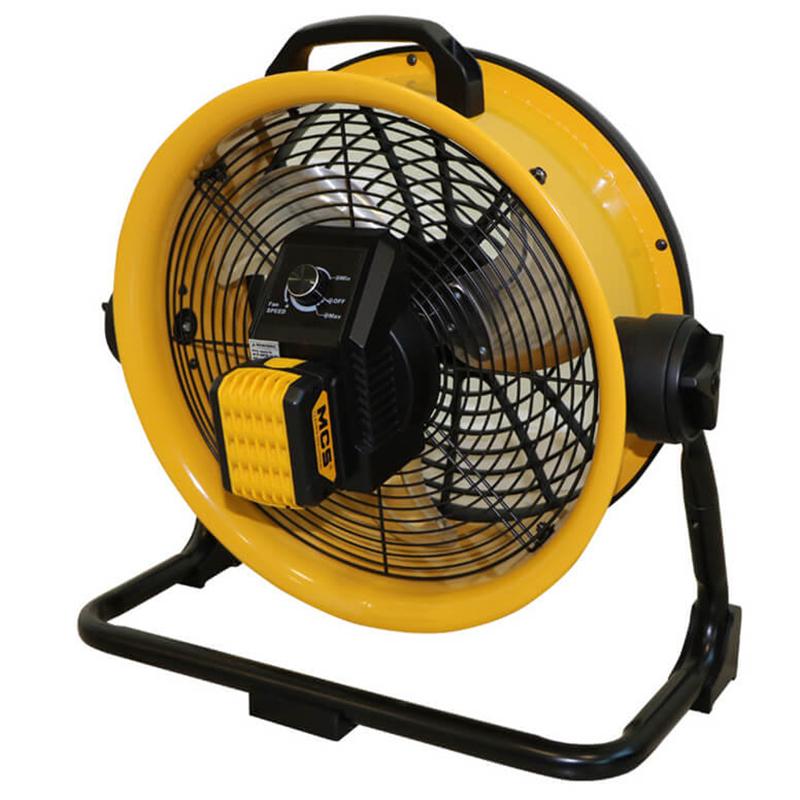 Ventilator cu acumulator tip DFB 16