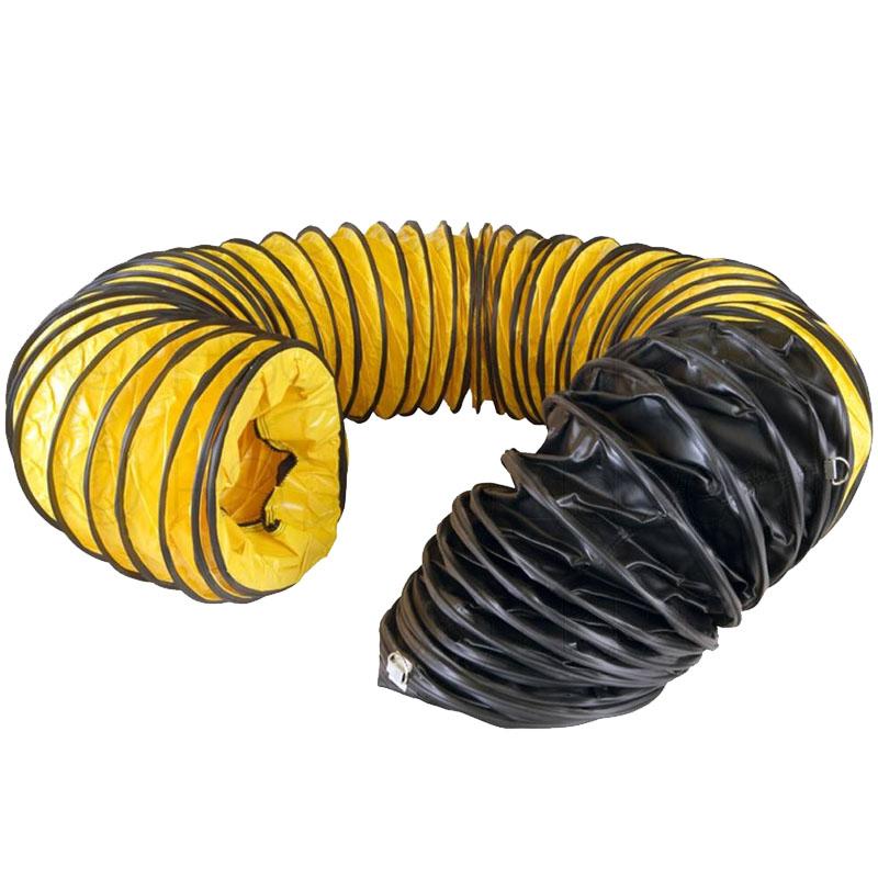 Tubulatura flexibila incalzitor, PVC, diametru 23 cm, L=7,6 m