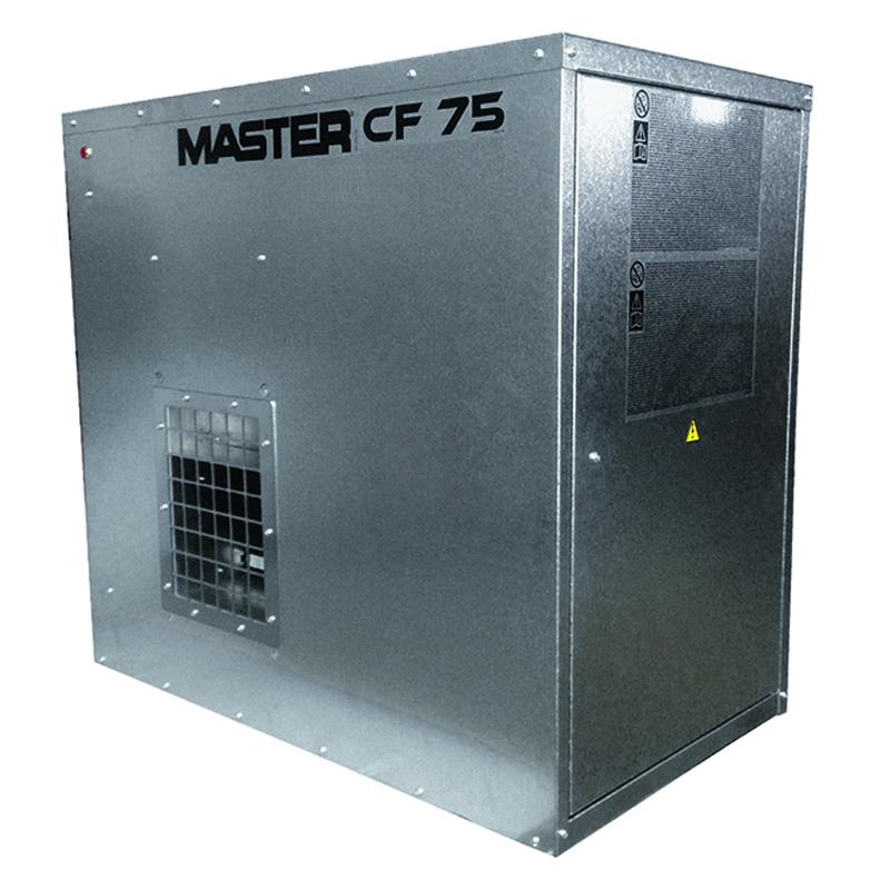 Incalzitor cu gaz pentru ferme de animale tip CF 75 SPARK Inox
