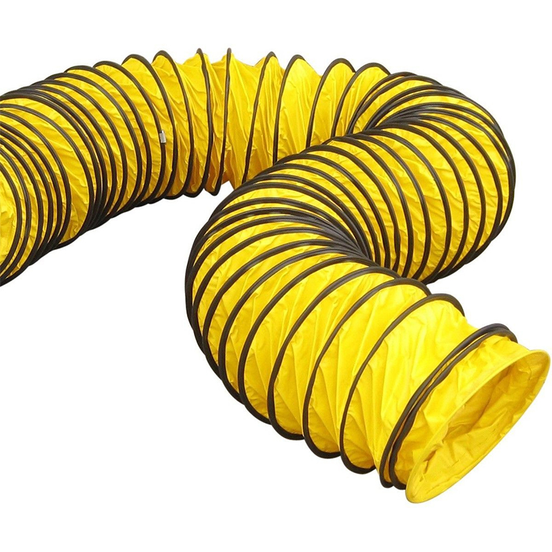 Tubulatura flexibila ventilatie, L=7,6m, diametru 21 cm